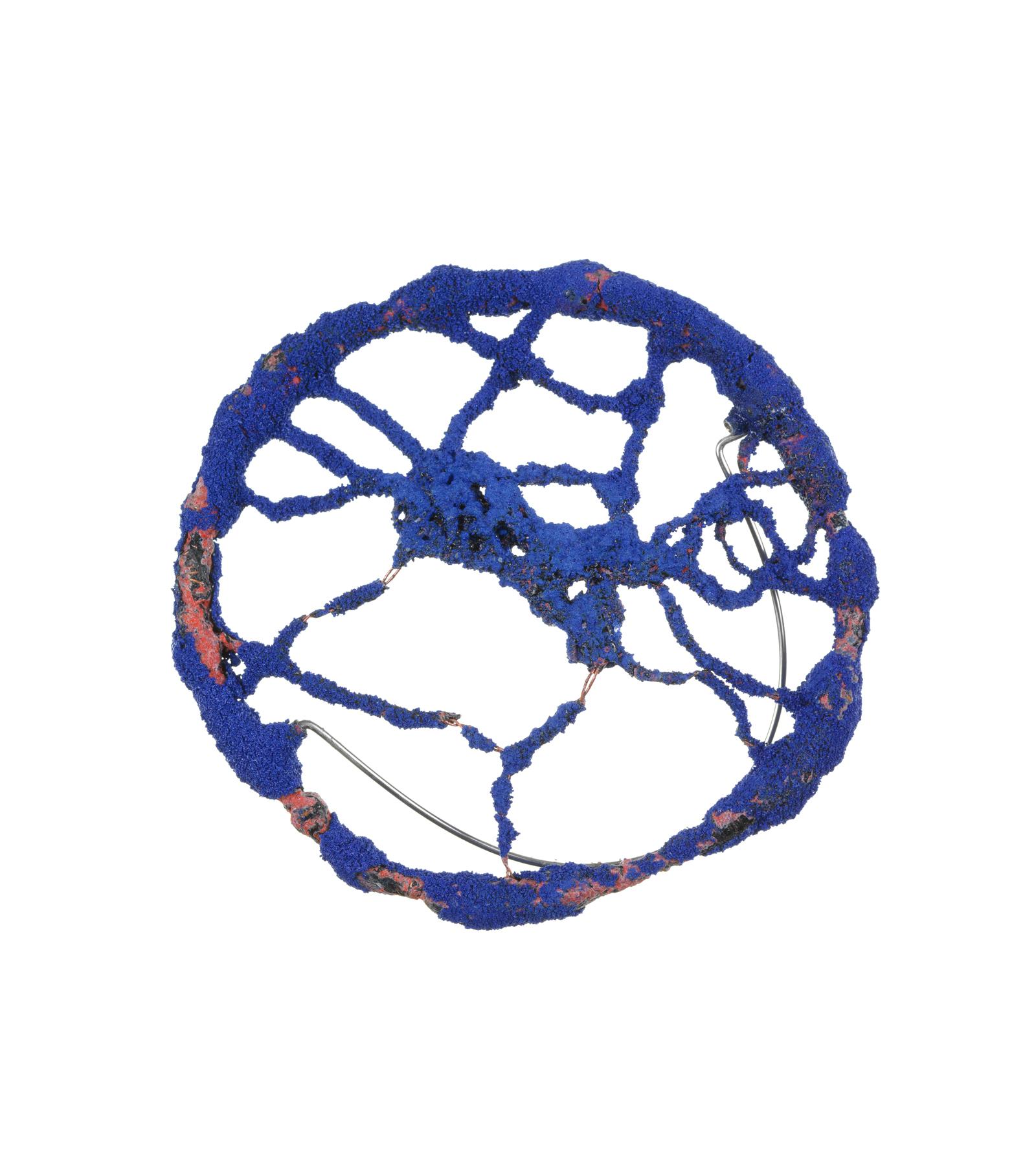 Blue Circle Brooch, 2007