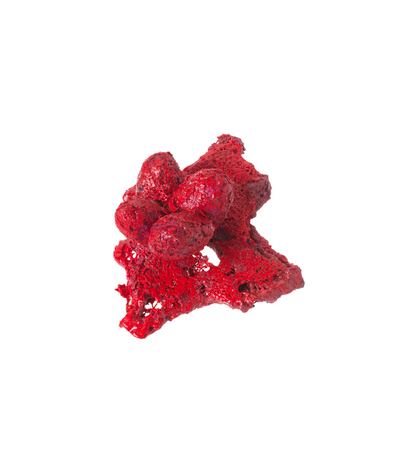Red Brooch, 2014