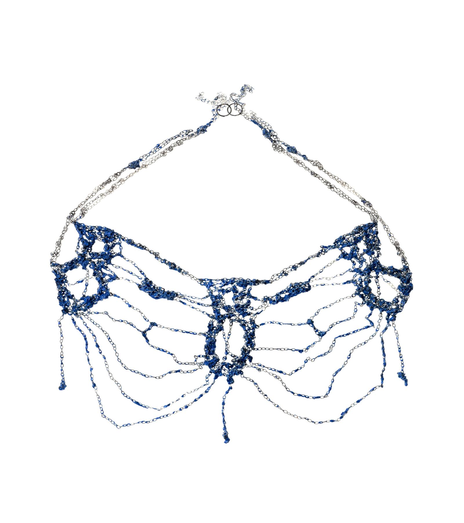 Royal Blue Istos Necklace 01, 2012