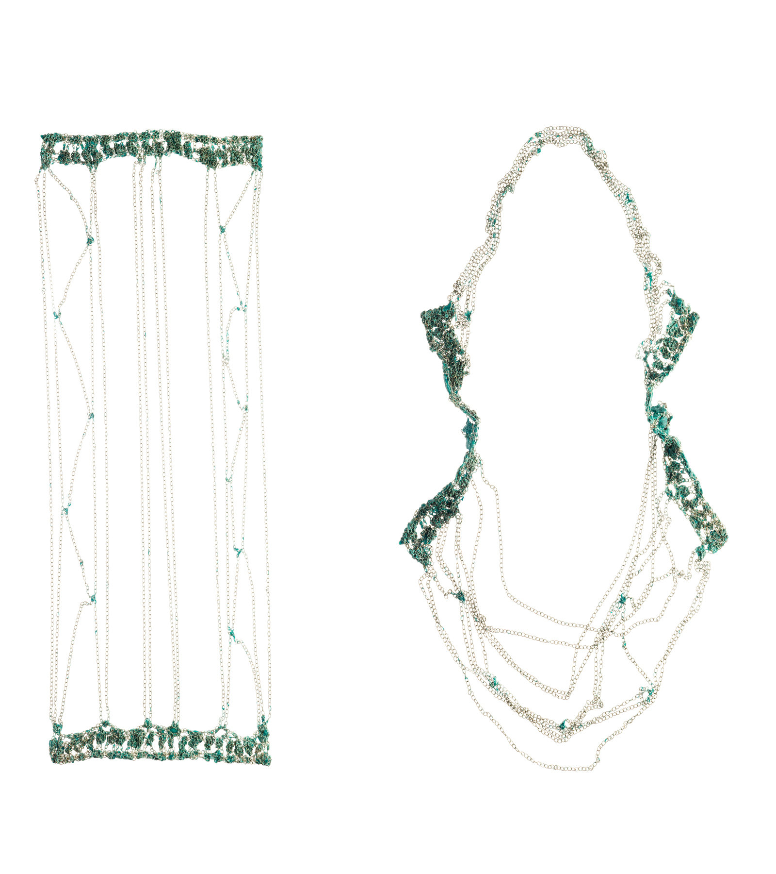 Splendour In the Grass, Panel Necklace, 2013