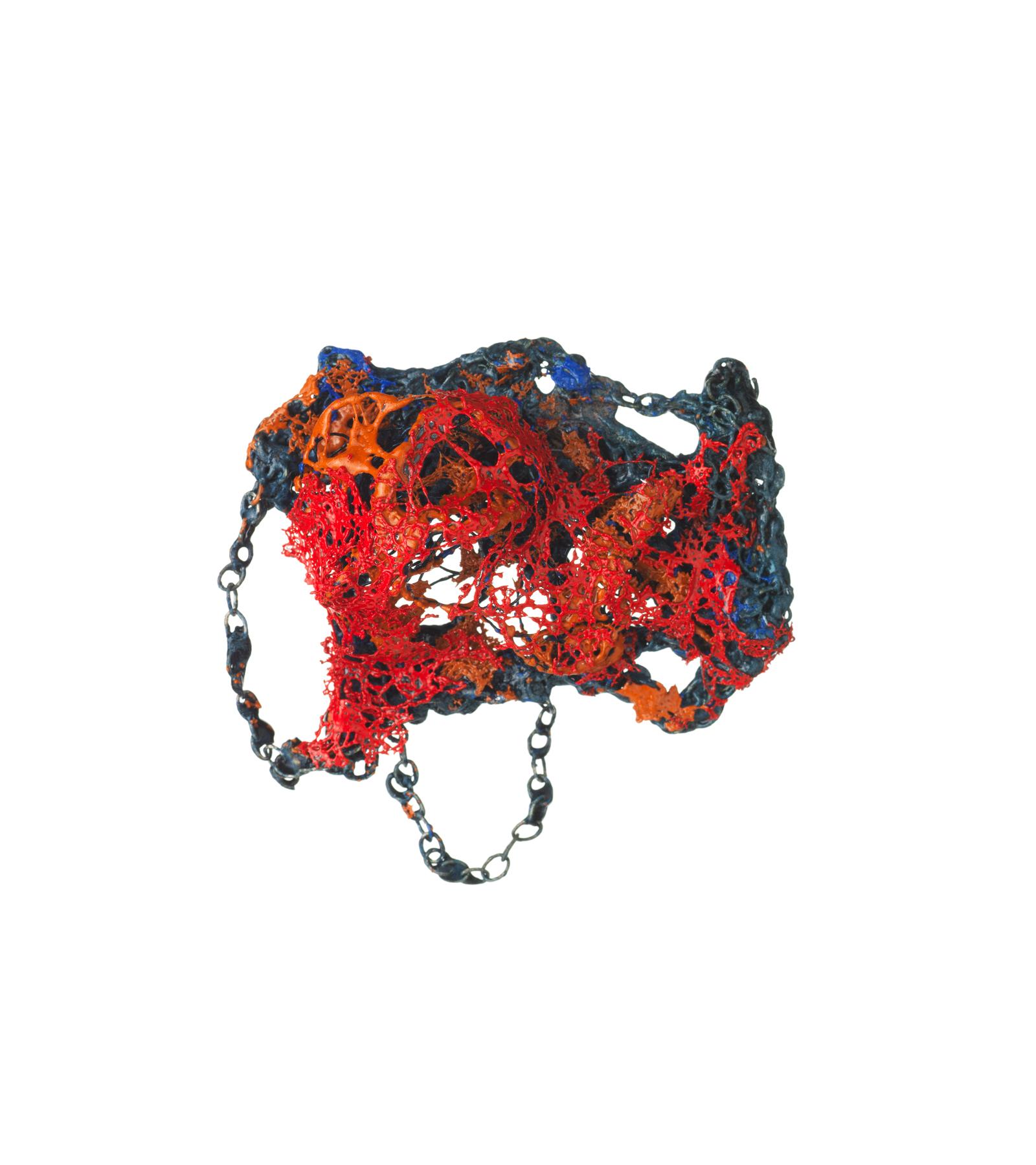 Multi Coloured Brooch, 2014