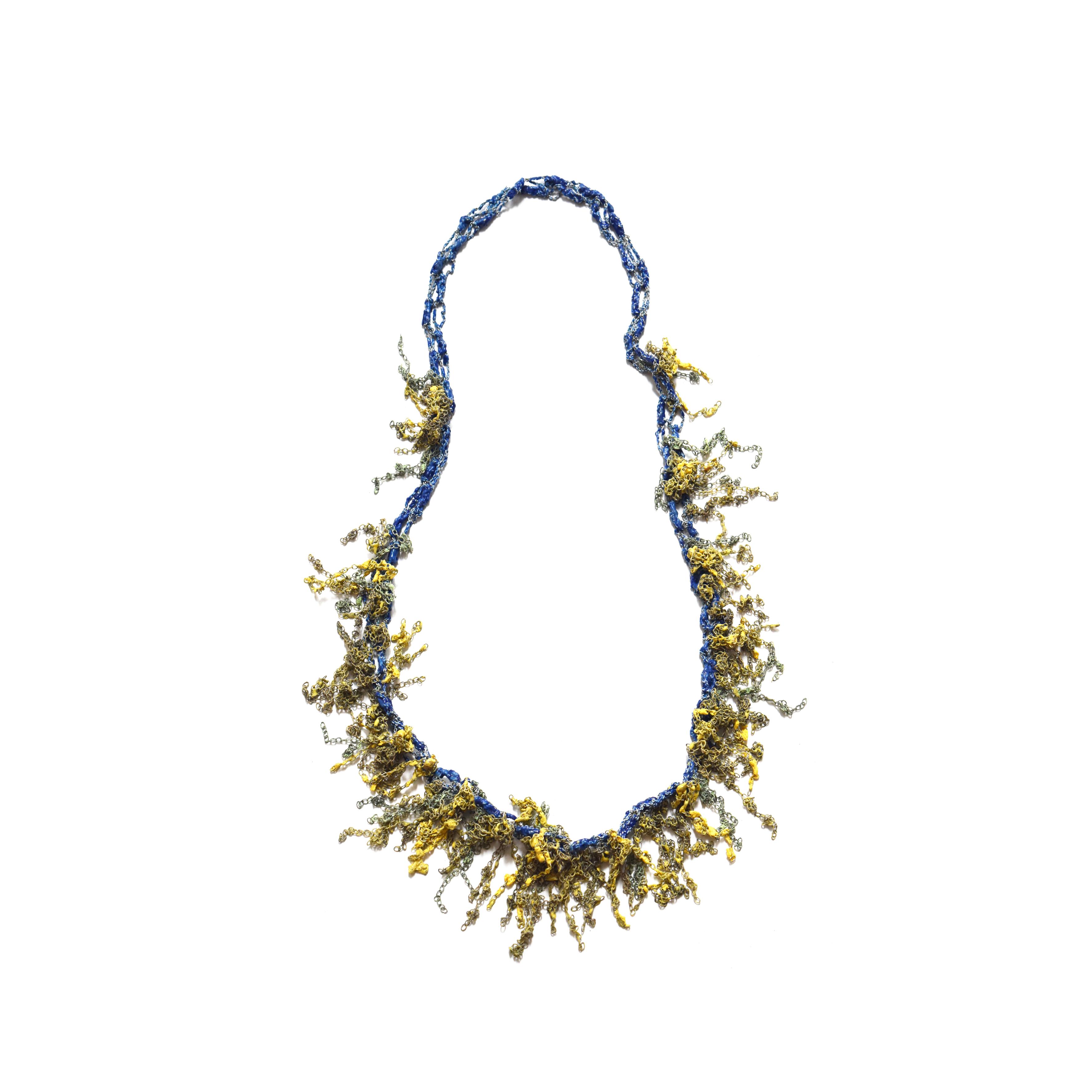 Mimosa Springtime,Necklace 2016